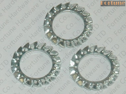 Stainless Steel Serrated Lock Washers